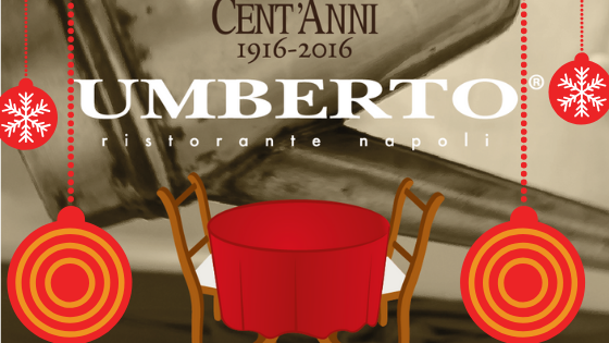 What do Umberto 1916 reserve for you on Christmas Eve and on New Year's Eve Gala ? Find out now!